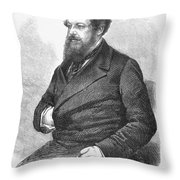 William Howard Russell Throw Pillow