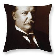 William Howard Taft - President Of The United States Throw Pillow by International  Images