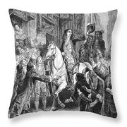 William IIi Of England Throw Pillow