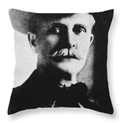 William M. Tilghman Throw Pillow
