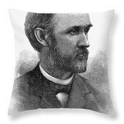 William Miller (1840-1917) Throw Pillow
