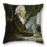 William Pitt (1759-1806) Throw Pillow