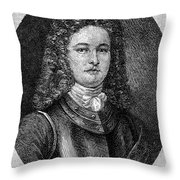 William Rhett (died C1716) Throw Pillow