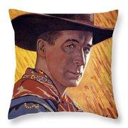William Surrey Hart Throw Pillow