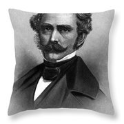 William T. G. Morton, American Dentist Throw Pillow