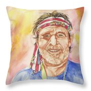 Willie Wanna-be Throw Pillow