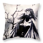 Willing Victim Throw Pillow
