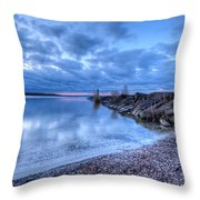 Willow Bay Throw Pillow by Everet Regal