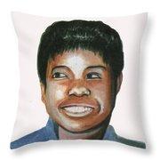 Wilma Rudolph Throw Pillow