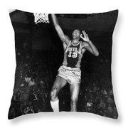 Wilt Chamberlain (1936-1996) Throw Pillow by Granger