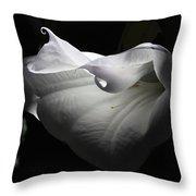 Wilting Beauty Throw Pillow
