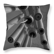 Windchime 2 Throw Pillow