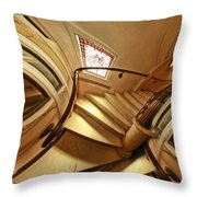 Winding Staircase Throw Pillow
