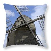 Windmill 10 Throw Pillow