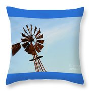 Windmill-3667 Throw Pillow