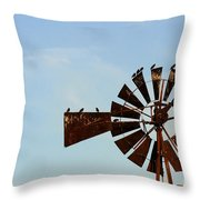 Windmill-3772 Throw Pillow
