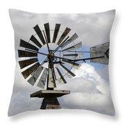 Windmill 6 Throw Pillow