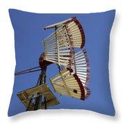 Windmill 8 Throw Pillow