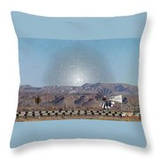 Windmill Culture Clash Throw Pillow