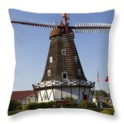 Windmill Danish Style 1 A Throw Pillow
