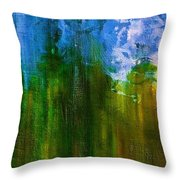 Windmills In My Mind Throw Pillow