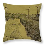 Windmills Of My Mind Throw Pillow