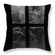 Window At Castle Frankenstein Throw Pillow by Simon Marsden