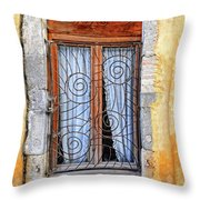 Window Provence France Throw Pillow