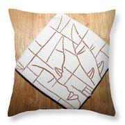 Windows - Tile Throw Pillow