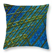 Windows And Reflections No.1058 Throw Pillow