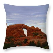 Windows Arch Throw Pillow