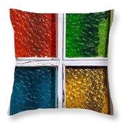 Windows Throw Pillow by Carlos Caetano