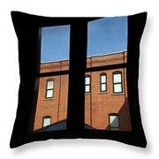 windows of Grace Throw Pillow