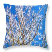 Winds Upon The Branchs II Throw Pillow