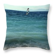 Windsurf Throw Pillow