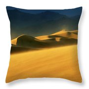 Death Valley Windswept 2 Throw Pillow