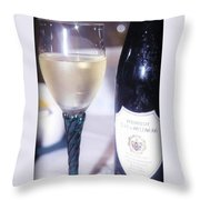 Wine And Dine Throw Pillow