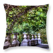 Wine And Vine Throw Pillow