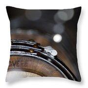 Wine Barrels In Oak Throw Pillow