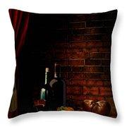 Wine Lifestyle Throw Pillow