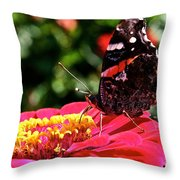 Wing Profile Throw Pillow