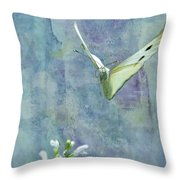 Winging It Throw Pillow by Betty LaRue