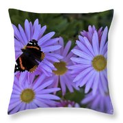 Wings Of Hope Throw Pillow