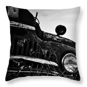 Wink From The Field Throw Pillow