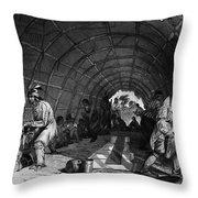 Winnebago Medicine Men Throw Pillow