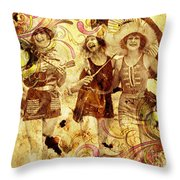 Winsome Women Throw Pillow