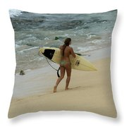 Winter In Hawaii 4 Throw Pillow