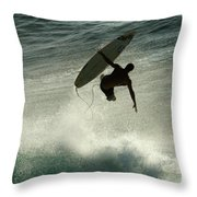 Winter In Hawaii 7 Throw Pillow