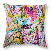 Wired For Joy Throw Pillow