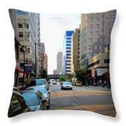 Wisconsin Avenue 2 Throw Pillow